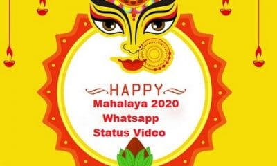 Mahalaya 2020 Whatsapp Status Video Download