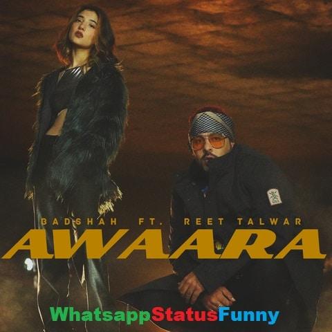 Awaara Song Badshah Reet Talwar Whatsapp Status Video Download