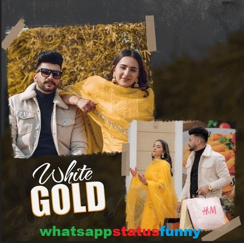 White Gold Song Nawab Gurlez Akhtar Status Video Download