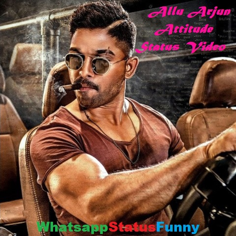 Allu Arjun Attitude Status Video Download