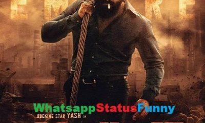 KGF Chapter 2 Whatsapp Status Video Download