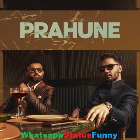 Prahune Song Prem Dhillon Amrit Maan Status Video Download