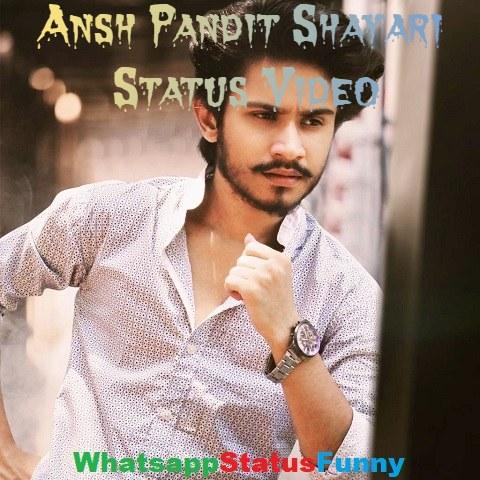 Ansh Pandit Shayari Status Video Download For Whatsapp