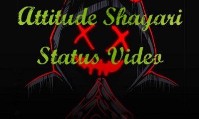 Attitude Shayari Status Video Download