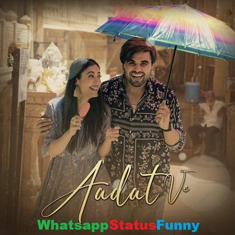 Aadat Ve Song Ninja Whatsapp Status Video Download