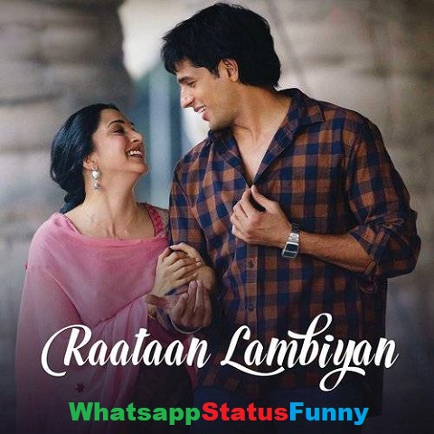 Raataan Lambiyan Song Jubin Nautiyal Status Video Download