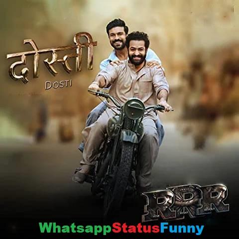Dosti Song RRR Amit Trivedi Whatsapp Status Video Download