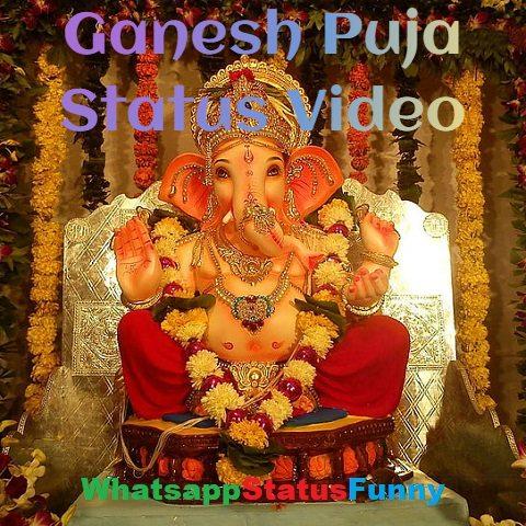 Ganesh Puja Whatsapp Status Video Download