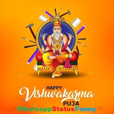 Happy Vishwakarma Puja Whatsapp Status Video Download