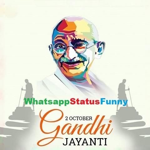 Happy Gandhi Jayanti Status Video Download